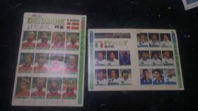 丹麦队 意大利队 球星写真 2张
