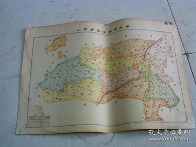 山东省临清县学区图