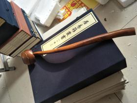 早期收藏 黄杨木如意,赌博网:手工雕刻老辣,有力度漂亮完整,值得收藏