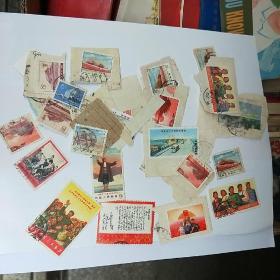 水调歌头等文革邮票37张合售