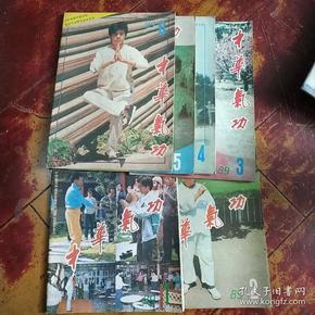 中华气功 1989年1-6期(合售)