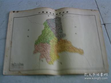 山东省曲阜县学区图