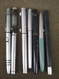 老钢笔7只