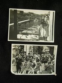 朝鲜和阿尔巴尼亚社会主义共和国儿童的幸福生活两张一组全,新华通讯社,原袋子,原说明。 长边10厘米