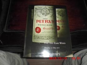 CHRISTIES  伦敦佳士得  2011  珍贵葡萄酒