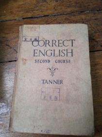correct english second course