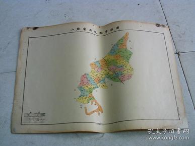 山东省禹县学区图