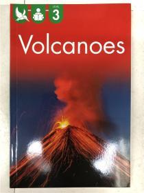 尾单书 reading alone with some help level3 volcanoes 平装 在帮助下独自阅读系列3 火山