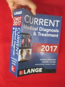 Current Medical Diagnosis and Treatment 2017 by Stephen J. McPhee (English) Pape          ( 16开)  【详见图】