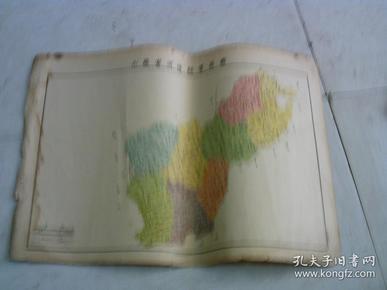 山东省济阳县学区图