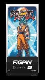 全新七龙珠徽章 美国FiGPiN出品七龙珠超级赛亚悟空立式徽章金属胸针 Dragon Ball FighterZ: SSGSS Goku