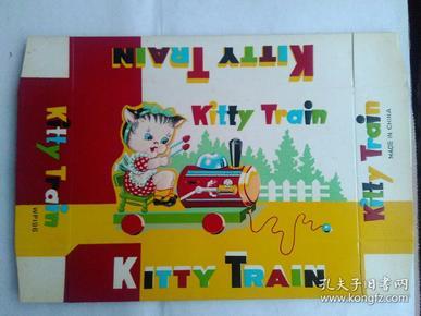 儿童玩具 猫咪火车 出口商品广告