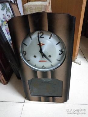 七八十年代金杯牌老座钟挂钟