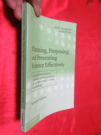 Planning Proposing and Presenting Science Effectively    【详见图】