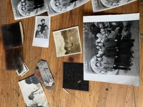 3141:老的黑白照片12张 ,底片5张