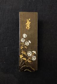 日本老油烟墨:菊【餘35.10克】
