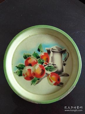 搪瓷盘  外径30cm  50年代产品