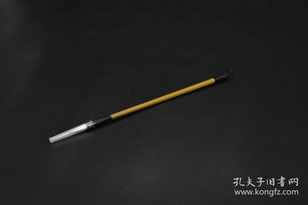 (P3533)《毛笔》1支 ,兼毫 毛笔出峰口直径:0.89cm 笔杆长度:23cm 出峰:2.15cm, 文房用具 文房四宝之一 书道用具 书法绘画