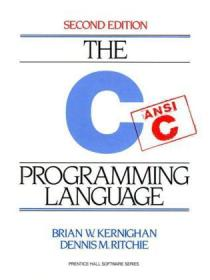 The  C Programming Language:-