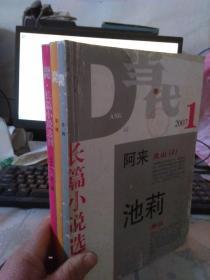 当代,长篇小说选刊2007年1.2.3期(自制合订在一起)