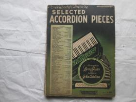 SELECTED ACCORDION PIECES