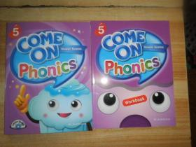 COME ON PHONICS WORKBOOK 5 附2张光盘2本