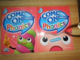 COME ON PHONICS WORKBOOK 3 附2张光盘2本