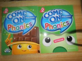 COME ON PHONICS WORKBOOK 2 附2张光盘2本
