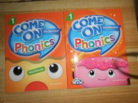 COME ON PHONICS WORKBOOK 1附2张光盘2本