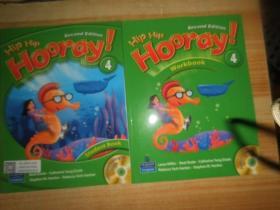 Hip Hip Hooray Student Book,Workbook 4(附光盘2张)2本