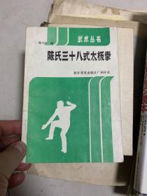 陈氏三十八式太极拳