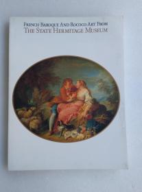 FRENCH BAROQUE AND ROCOCO ART FROM THE STATE HERMITAGE MUSEUM 精美画册