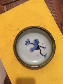 老景德镇瓷笔洗或烟灰缸