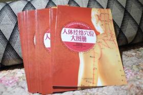 人体经络穴位大图册  中华传统中医保健经典指导手册  附赠说明书