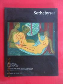 英文书  SOTHEBY S   LONDON PRINTS MULTIPLES 共148页  详看图片