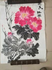 [3419江祺牡丹图一幅