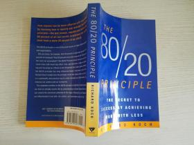 The 80/20 Principle:The Secret to Achieving More with Less【实物拍图】