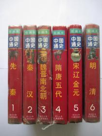 绘画本中国通史 全六册