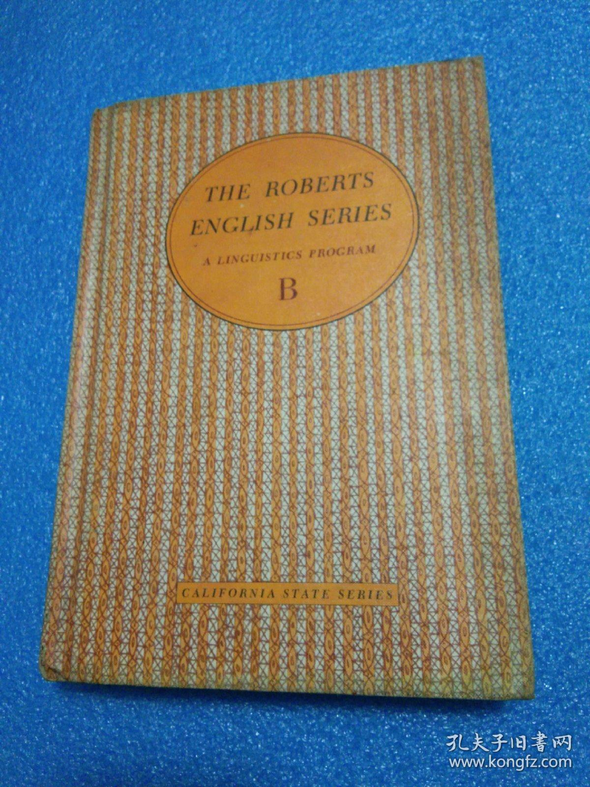 THE ROBERTS ENGLISH SERIES B、C、D 【三本 合售】罗伯茨英语系列 全英文精装
