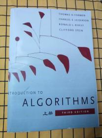 Introduction to Algorithms:Third Edition(英文原版,算法导论;上中下册,下册封底及右上端浸水有污渍。)