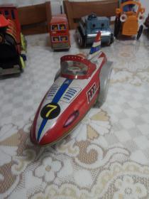 老铁皮玩具 7号宇宙飞船