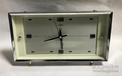钻石牌机械老闹钟全铜机芯老式闹钟正常走时老物件收藏