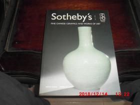 sothebys 香港苏富比2003年4月27日优秀的中国瓷器工艺精品  30周年纪念
