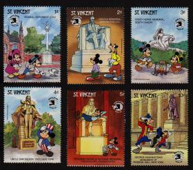 文森特邮票----1989年世博会