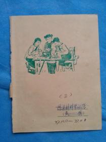 岁月留痕41---老笔记本封面
