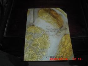 CHRISTIES 伦敦佳士得 2011  中国陶瓷与艺术品