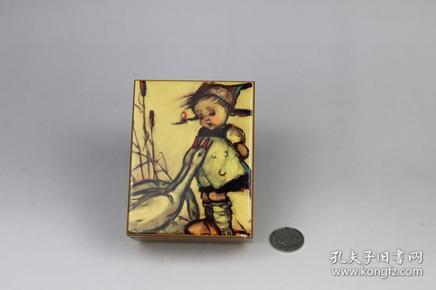 手绘木质音乐盒