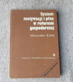 System motywacji i płac w reformie gospodarczej (波兰语原版)