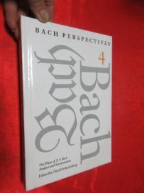 Bach Perspectives, Volume 4: The Music       锛堝皬16寮�锛岀‖绮捐锛� 銆愯瑙佸浘銆�