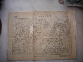 民国19年出版-山西省【临晋县图】!54/39厘米